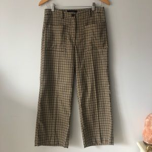 WHO WHAT WEAR | Plaid pants.
